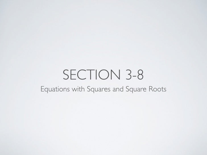 Integrated Math 2 Section 3-8