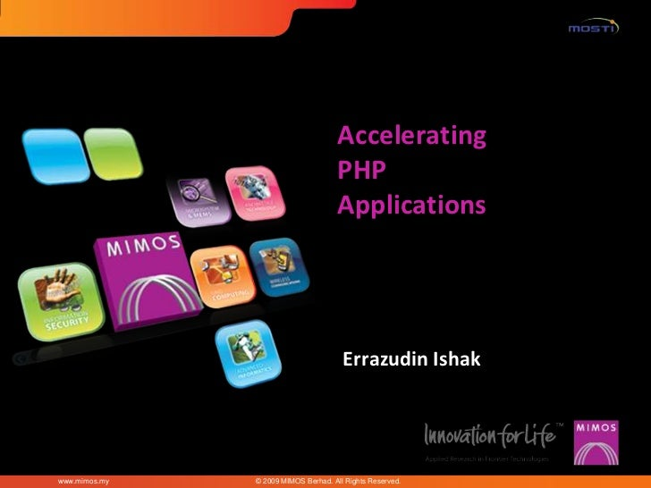 Accelerating                                      PHP                                      Applications                   ...