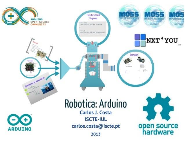 Robótica: Arduino (Introdução)
