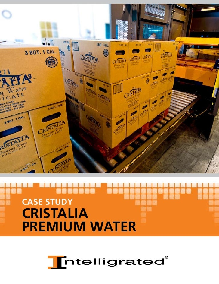 CASE STUDYCRISTALIAPREMIUM WATER
