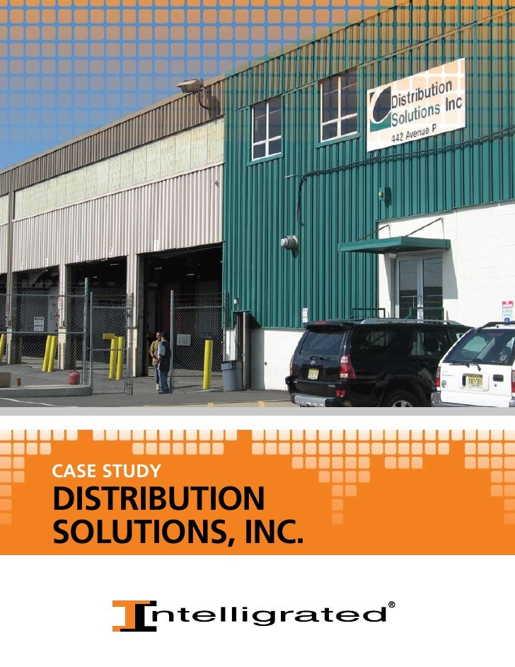 CASE STUDYDISTRIBUTIONSOLUTIONS, INC.