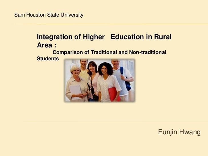 Integration of higher education