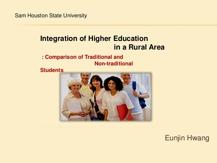 Integration of higher education