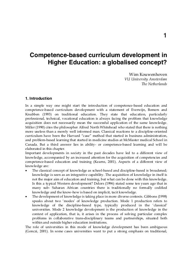 In tech competence-based_curriculum_development_in_higher_education_a_globalised_concept_