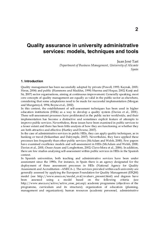 In tech quality-assurance_in_university_administrative_services_models_techniques_and_tools