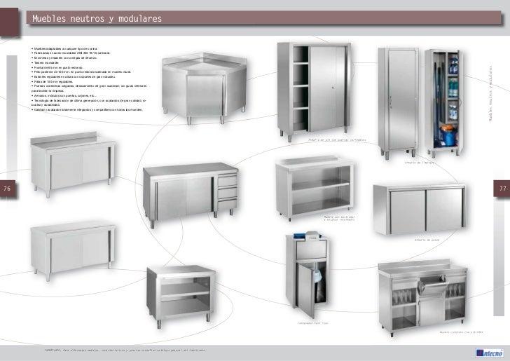 Catalogo muebles auxiliares intecno hosteurgroup for Muebles auxiliares para cocina