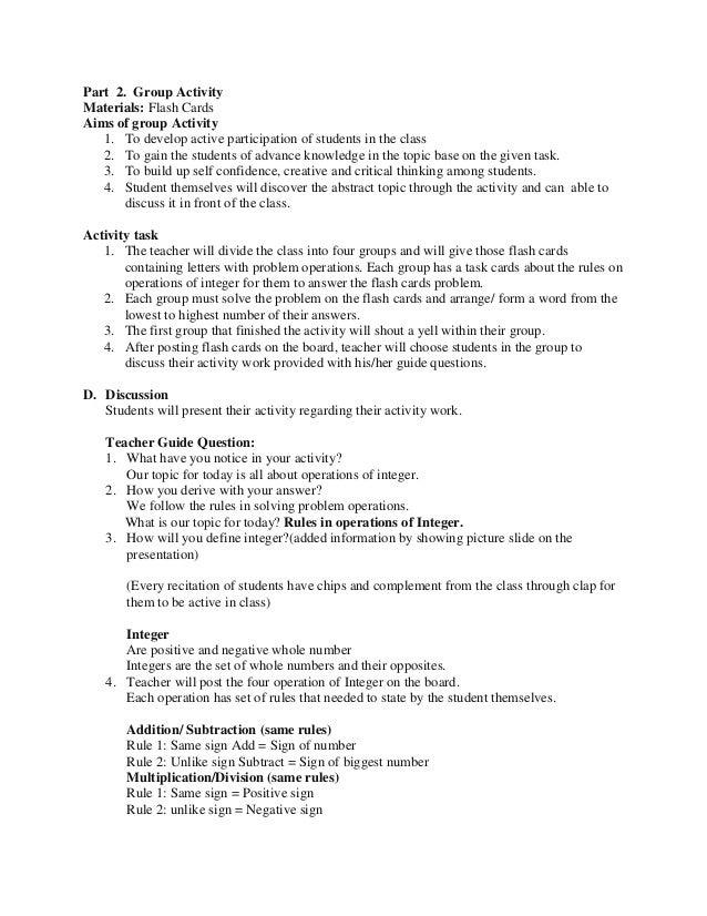 health lesson plan template