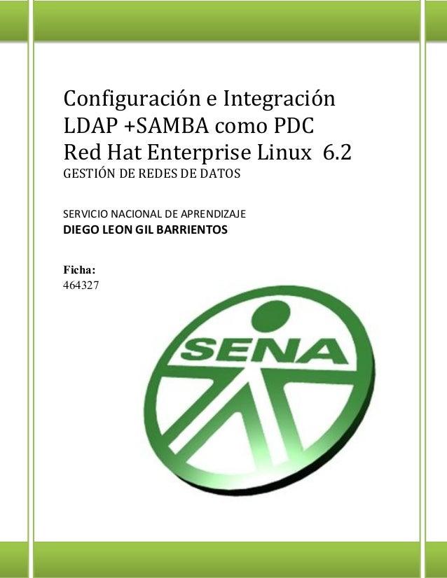 Integración LDAP + SAMBA