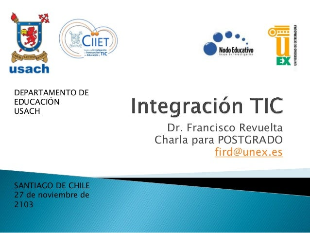 Integración tic