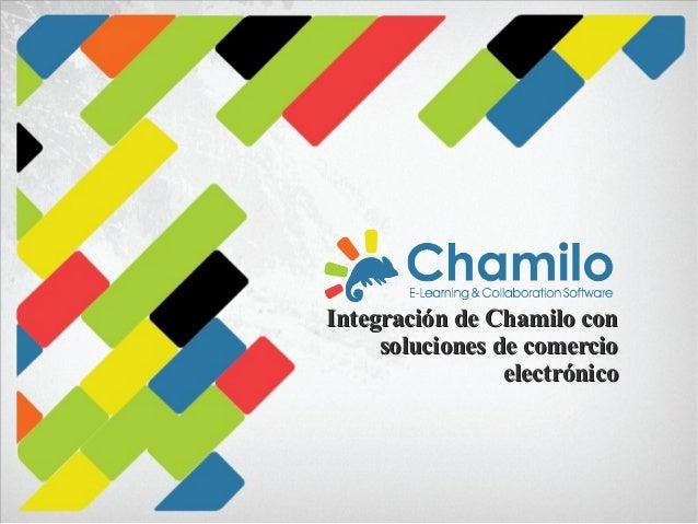 Integración de Chamilo con soluciones de comercio electrónico