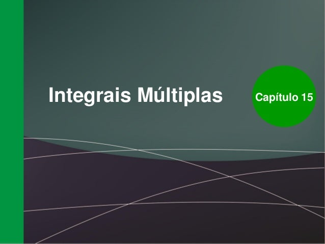 Integrais multiplas