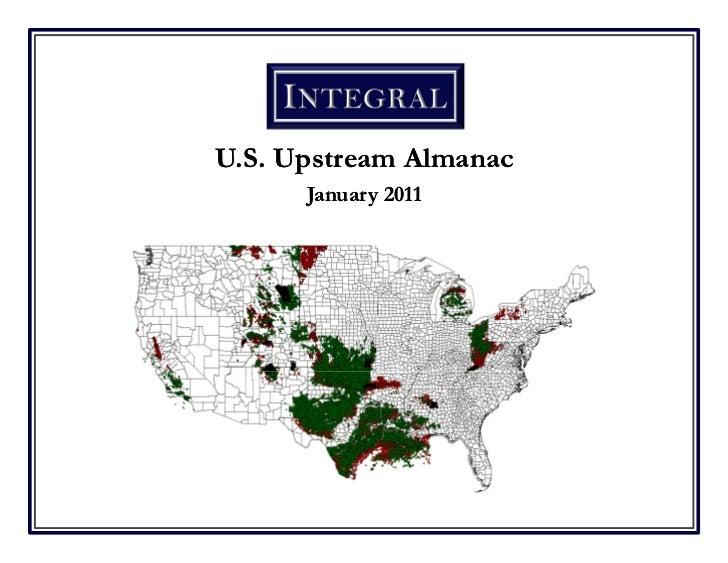 U.S. Upstream Almanac      January 2011