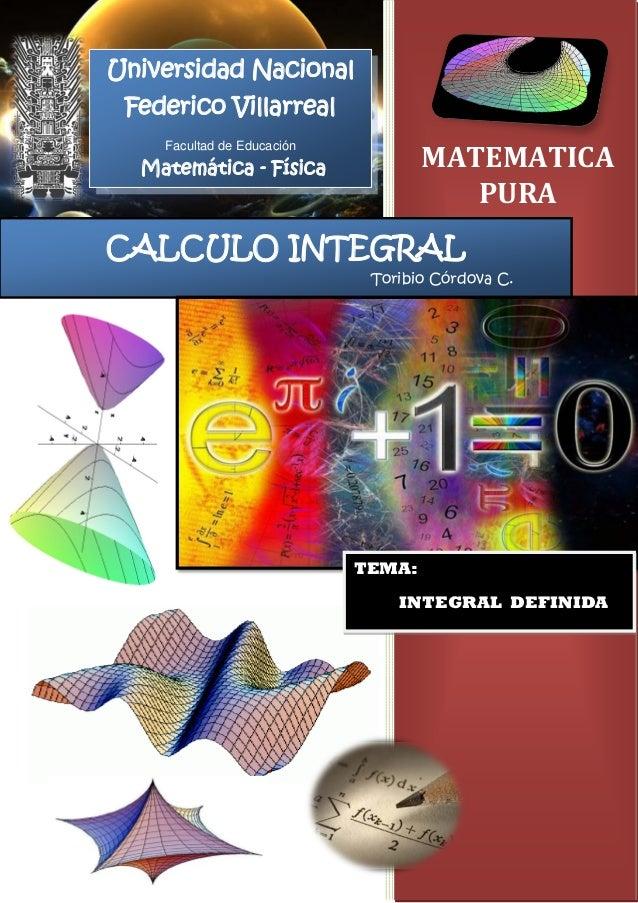 integral definida: