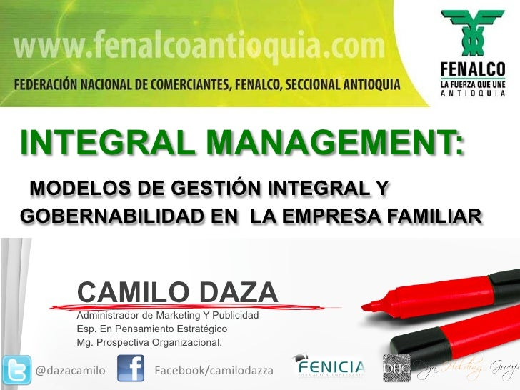 Integral Management - Camilo Daza
