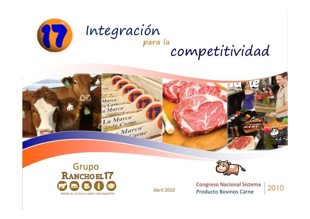 Integración           para la                     competitividad                          Por: Roberto Zambrano Gaytán    ...