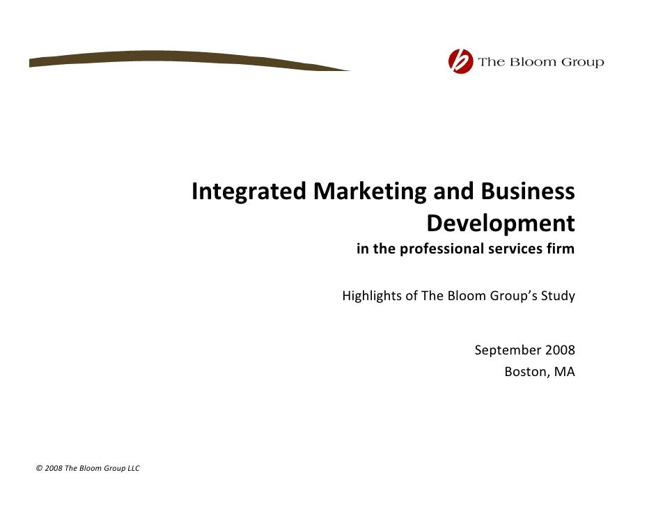 Integrated Sales And Marketing