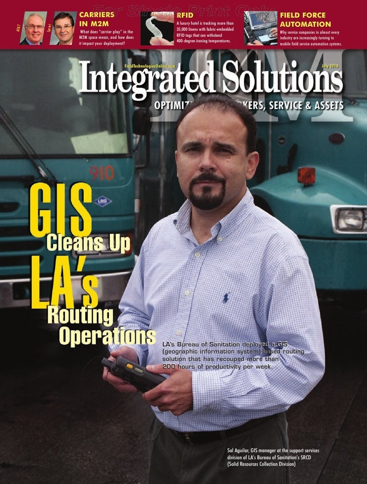GIS Cleans Up LA's Routing Operations