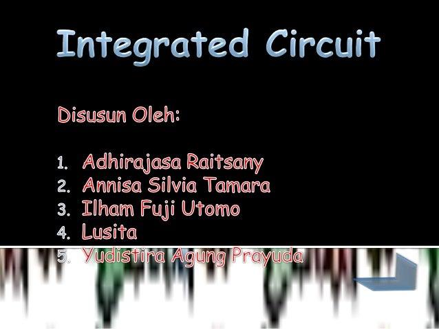Integrated circuit final