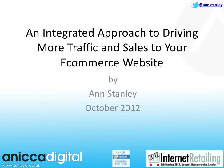 Intergrated eCommerce Marketing Presentation