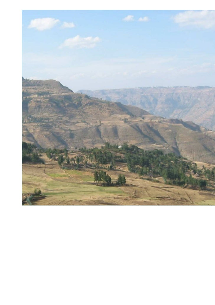 BoABureau of Agriculture – Amhara RegionIntegrated Food SecurityProgramme South Gonder                  German Development...