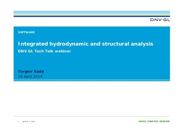 Integrated hydrodynamic and structural analysis webinar presentation tcm4 601490