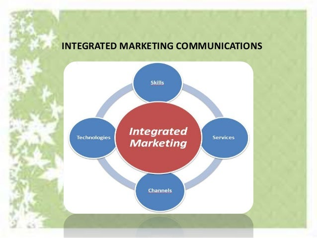 integrated marketing communications essays Essay on integrated marketing communications rchy-ofeffects model awareness innovationadoption model communications model exposure cognitive stage attention.