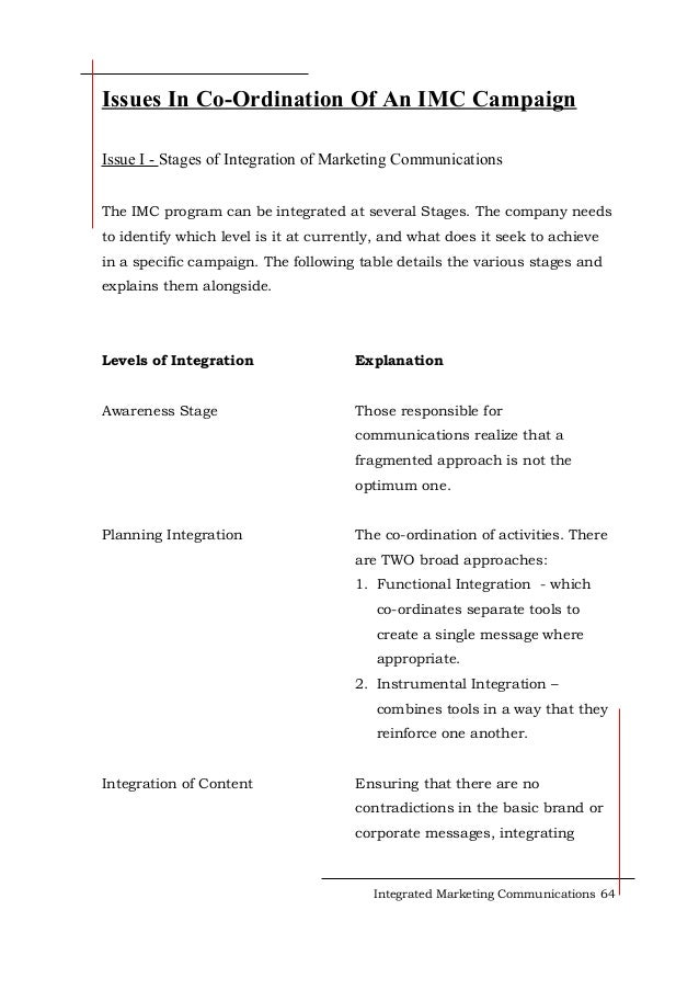 essay about integrated marketing communication 0 responses on custom essays on integrated marketing communications planning and control: nesquik.