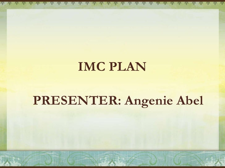 Integrated marketing communications plan (mooi cosmetics)