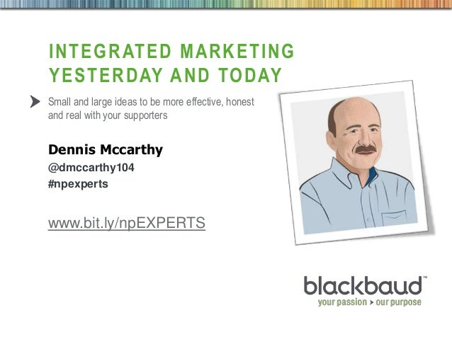 Integrated Marketing for Nonprofits by Dennis McCarthy