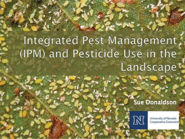 2013 Green Industry Training: IPM and Pesticide Safety