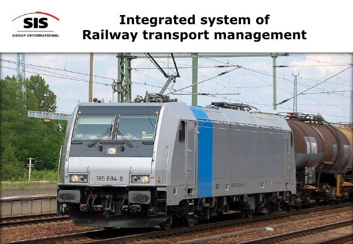 Integrated Railway Transport Management System <br />