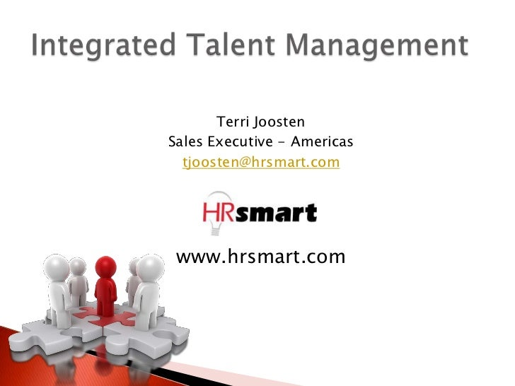 Integrated Talent Management 1