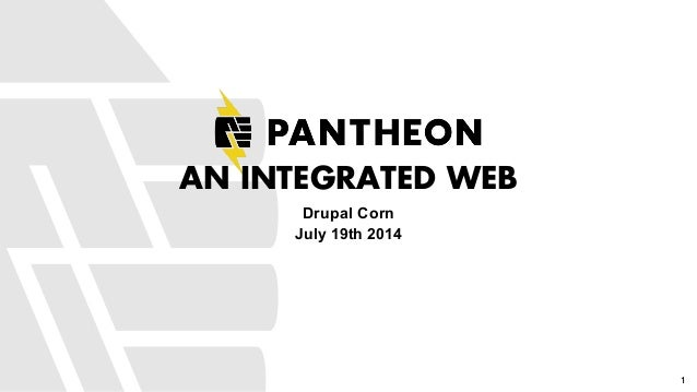 An Integrated Web - DrupalCorn 2014 Keynote