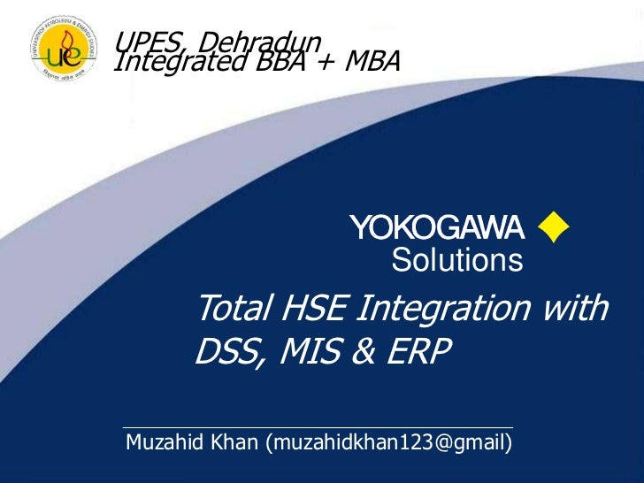 Integrating IT with HSE