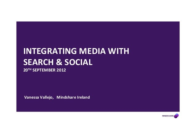 Integrating Media, Search and Social