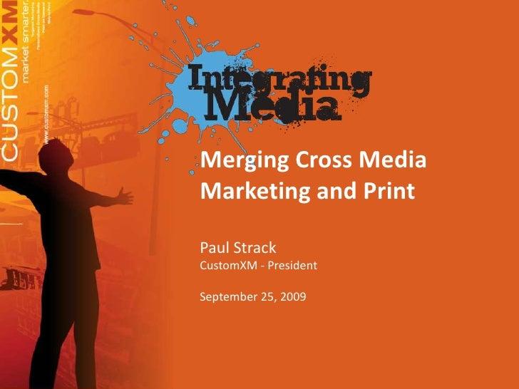 Integrating Media Conference 9 25 09