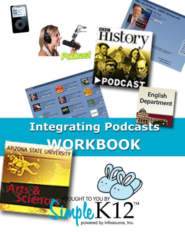 Integrating podcastsworkbookv2