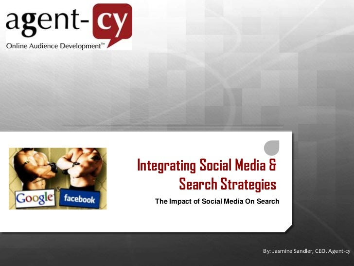 Integrating Social Media and Search Strategies<br />Overview of the current impact of Social Media on Search<br />