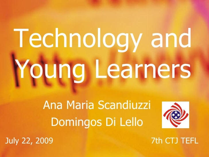 Integrating Technology Into The Classroom For Young Learners
