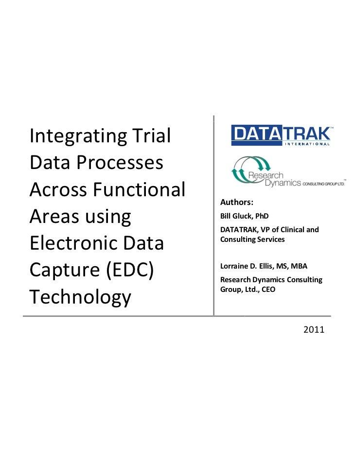 Integrating Trial                                                                   ...