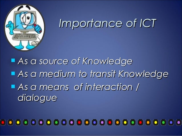 DEFINITION OF ICT