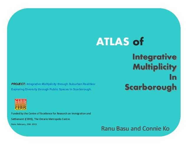 Dr. Ranu Basu - CERIS Atlas of Integrative Multiplicity in Scarborough