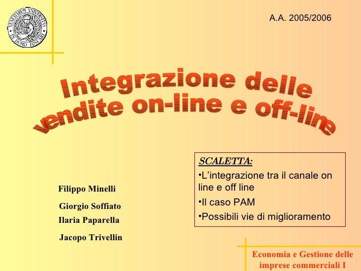 Economia e Gestione delle imprese commerciali I Ilaria Paparella Giorgio Soffiato Jacopo Trivellin Filippo Minelli Integra...