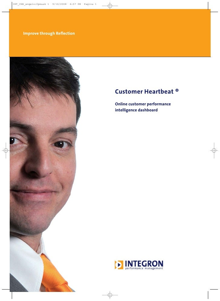 Improve through Reflection                                  Customer Heartbeat ®                              Online custo...