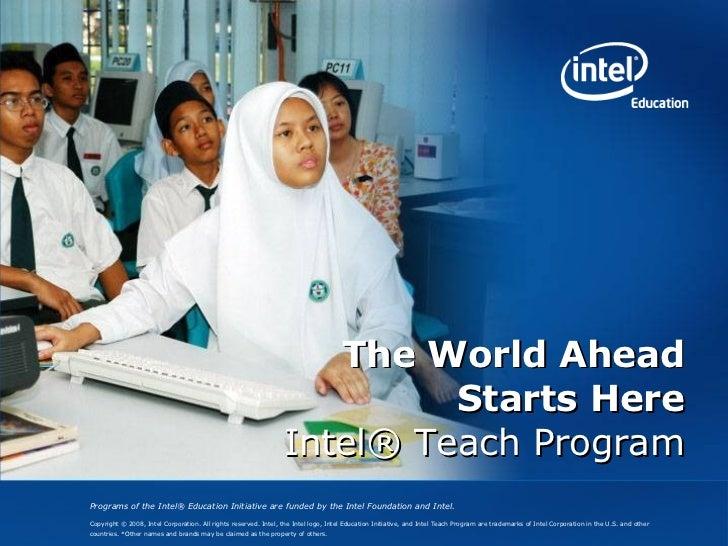 Intel Teach Overview
