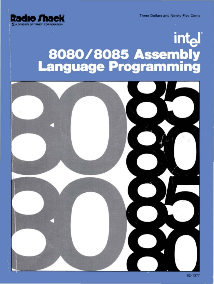 Intel 8080 8085 assembly language programming 1977 intel