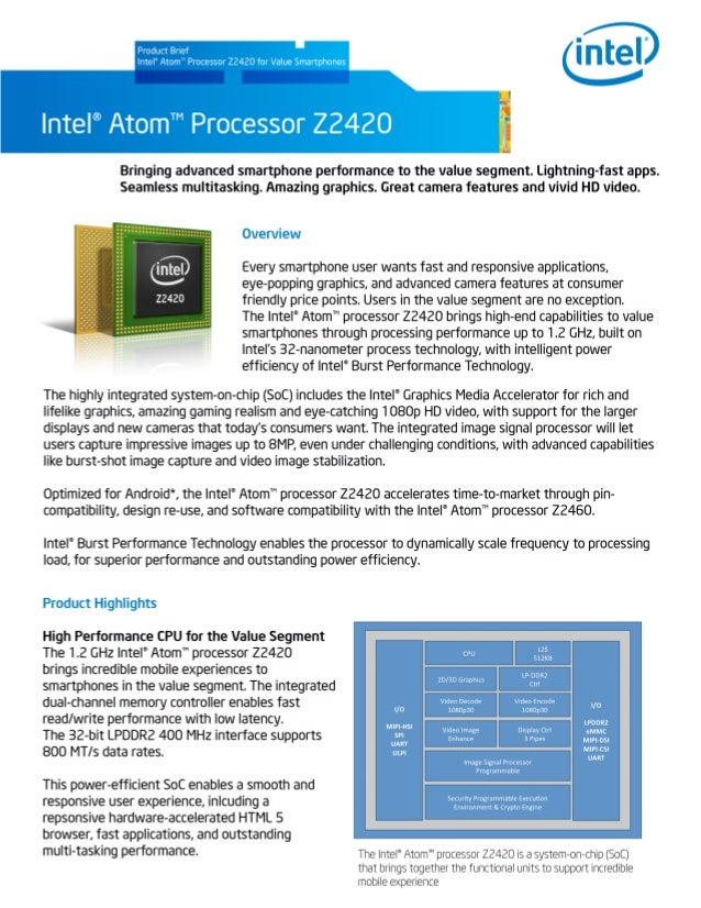 Intel atom processor_z2420_product_brief