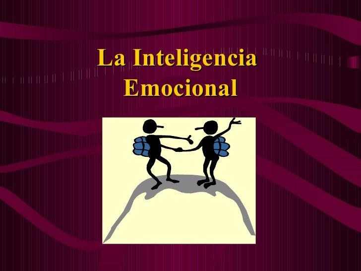 Intel emocional y autoestima