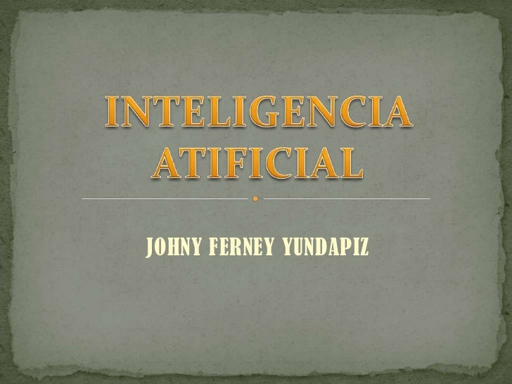 Inteligencia atificial