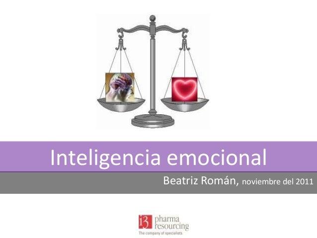 Inteligencia emocional m3